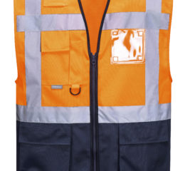 Warsaw Executive Vest - High Visibility - EN ISO 20471 Class 1